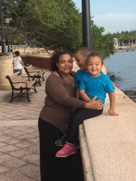 Mis nietos Rayan y Jeymie Septiembre 02 -2015